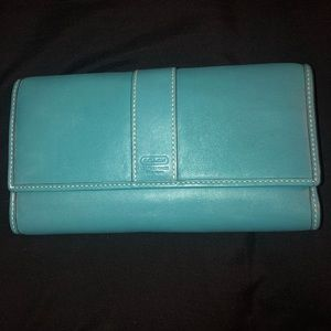 Coach Checkbook Style Wallet